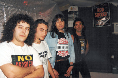 Sesta formazione 1995-1997
